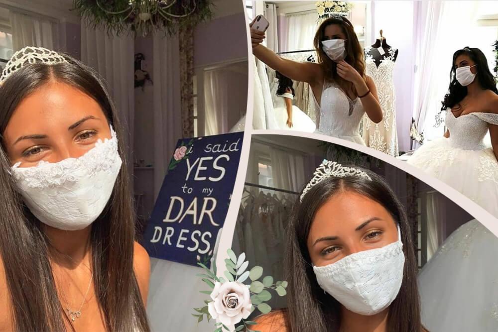 Maske za venčanja